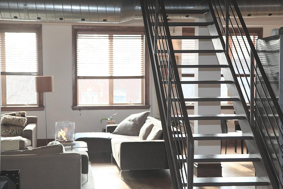 rambarde d'escalier